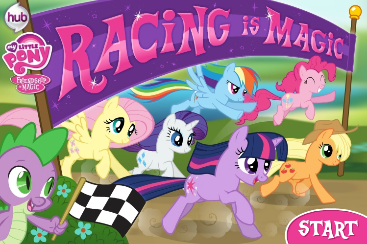 Pony Racing game